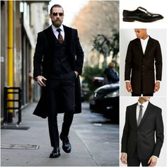 SHOP THE LOOK: The Idle Man - Coats   Suits   Trousers   Dr. Martens - Formal Shoes   Shop now   The Idle Man   #StyleMadeEasy