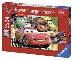 Puzzle :Le Nuove Avventure di Cars, 2x24 Pezzi