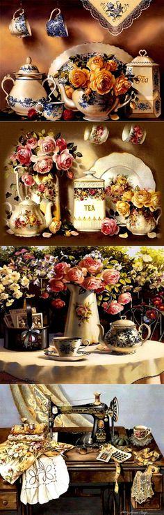 Sandy Lynam приглашает к чаю
