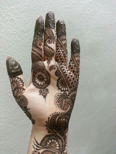 lovely indo arabic henna