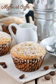 Muffin al Caffè Cupcakes, Cake Cookies, Cupcake Cakes, Muffin Cupcake, Sweet Desserts, Sweet Recipes, Cake Recipes, Muffins, Biscuits