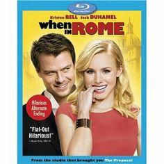 Amazon.com: When in Rome [Blu-ray]: Kristen Bell, Josh Duhamel, Danny DeVito, Jon Heder: Movies & TV