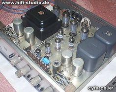 Luxman SQ65 (1965) Intégré 2 x 28 watts.