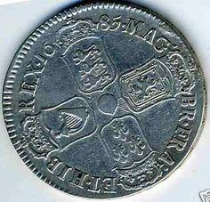 1685 - James II (reverse)