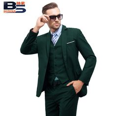 Wedding Groom, Wedding Wear, Green Tuxedo, Cheap Suits, Army Green, Suit Jacket, Lingerie, Slim, Costumes