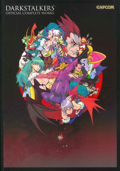 - It's the ultimate collection of Darkstalkers artwork and history! Darkstalkers: Official Complete Works collects the artwork of every Darkstalkers game, including key visuals, character illustration