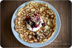 Coconut pancakes LCHF