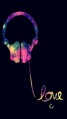 Music Painting Galaxy Ideas For 2019 Musik Wallpaper, Iphone Wallpaper Music, Neon Wallpaper, Cute Wallpaper Backgrounds, Pretty Wallpapers, Music Room Art, Music Artwork, Music Music, Musik Illustration