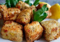 Crispy Swordfish Nuggets posted on italianfoodforever.com