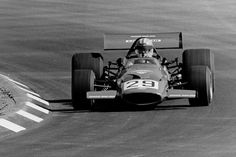 Jo Bonnier, McLaren-Ford M7C, United States Grand Prix, Watkins Glen, 1971 (16th). Photo copyright ©  PICSSR