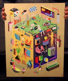 Unique work by TIM FUREY