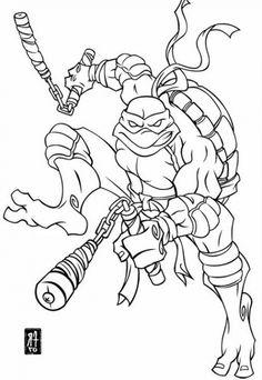 paper coloring pages: ninja turtles raphael 0n action coloring ... - Tmnt Michelangelo Coloring Pages