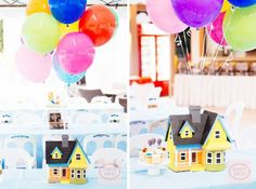 UP is one of my favorite films and it excites me to share with you this amazing party inspired by the hit Disney flick. Styled by Party Deco, this Up themed par
