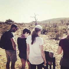 With Wife Amelia Warner in South Africa (May 2015)