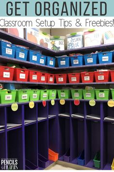 Are you looking for easy ways to organize and setup your classroom? I'm sharing my top teacher hacks, freebies, and more in this classroom tour! #classroomorganization #kindergarten #preschool #firstgrade #teacherhacks