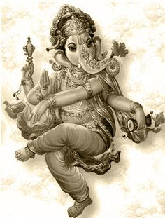 The Lord Ganesh...remover of obstacles & represents perfection in a child (if done right this would make an AWESOME tattoo!)