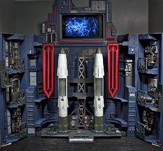 JoeCustoms.com > Playsets > Cobra > Missile Command Headquarter PHASE I
