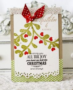 All The Joy Card by Melissa Phillips for Papertrey Ink (September 2012)
