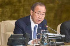 El Secretario General de la ONU, Ban Ki-moon, viajará mañana a La Habana para participar en la ceremonia de firma de un acuerdo histórico. Foto: ONU/Rick Bajornas