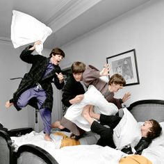 The beatles in color ♥ #beatles #pillows #color