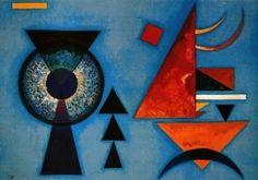 Wassily, Vassily Kandinsky - Abstract Art - Bauhaus - Molle rudesse - 1927
