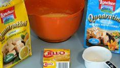 Living La Vida Holoka: Loacker Quadratini Wafer Lemon Pudding Pie