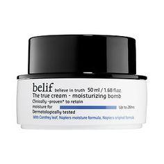 All the rage in Korea, now available at Sephora 2015: belif - The True Cream Moisturizing Bomb #sephora