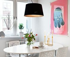 kucuk yemek alani icin fikirler mutfak yemek masasi yemek odasi mobilya masa sandalye sedir bank tercihi beyaz pembe siyah