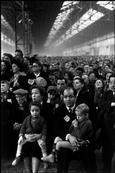 FRANCE. Paris. 1952-1953. 15th arrondissement. Porte de Versailles. Political meeting at the Parc des Expositions.