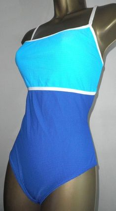 8219684072e25 SEXY LADIES BALTEX BLUE MIX PADDED SWIMSUIT SIZE 16  fashion  clothing   shoes  accessories  womensclothing  swimwear  ad (ebay link)