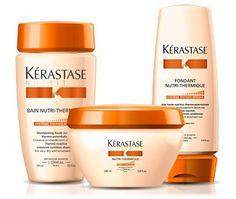 nutri thermique nutritive soin cheveux secs shampoing masque cheveux srum krastase - Kerastase Cheveux Colors