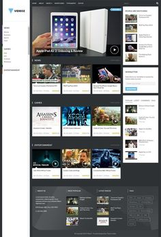 VideoZ WordPress Theme - Theme Junkie