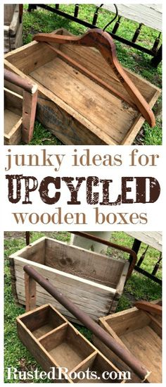 Great Blog with Lots of Upcycled Junk Inspiration! #RustedRoots