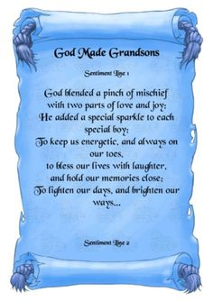 Grandsons,grandchildren,grandma quotes