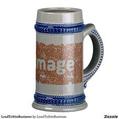 Your Custom 22 oz Stein http://www.zazzle.com/loadtositebusiness_mug-168246267721291508