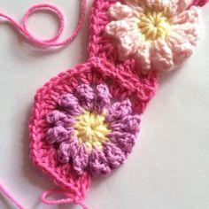 Join as you go Crochet Hexagons Tutorial ☼