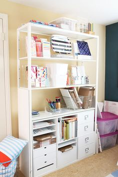 Shelves. See the whole tour when you click through.