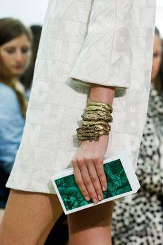 Giambattista Valli Spring 2014 accessories Paris Fashion Week