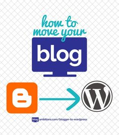 The QUICK guide to moving your blog from Blogger to WordPress.