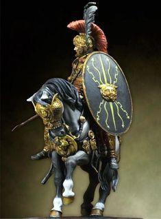 Second century Roman cavalry officer Ancient Rome, Ancient History, Roman Armor, Roman Soldiers, Toy Soldiers, Roman Legion, Armadura Medieval, Roman History, Samurai