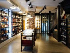 Let's discover a fabulous shop, full of diversity, just a few step from La Maison Saint Germain, La Maison du Whisky, at Carrefour de l'Odéon. More than 1500 references of alcohol selected for this temple of liquor and mixology.