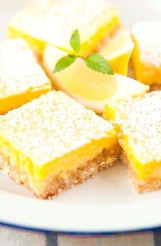 Low FODMAP Recipe and Gluten Free Recipe - Lemon bars    http://www.ibs-health.com/low_fodmap_lemon_bars.html