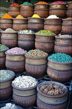 The great silk road: Spices, Marrakech Silk Road, India Travel, Belle Photo, Farmers Market, Beautiful World, Beautiful Things, Street Food, Travel Inspiration, Travel Ideas