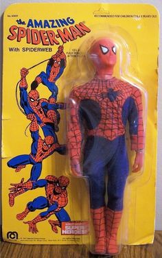 MEGO: 1977 The Amazing SPIDERMAN Action Figure
