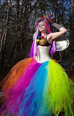 Neon Faerie Formal Tulle Skirt    http://www.infectiousthreads.com/big_mtc_tutu_formal_neon.htm