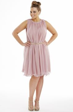 Fluted Hem Party Dress   Evening Dresse   Dream Diva   Plus Size and Larger Sized Clothing for Women