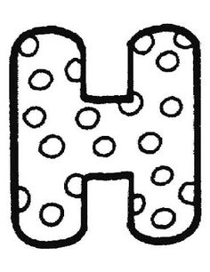 Alphabet Coloring Pages Preschool
