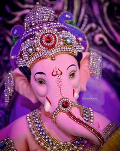 Image may contain: 1 person Shri Ganesh Images, Durga Images, Ganesha Pictures, Lakshmi Images, Ganesh Pic, Ganesh Lord, Baby Ganesha, Ganesha Art, Ganpati Bappa Photo