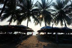 Bangsaen Beach , Pattaya, Chonburi