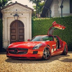 Magnificent Mercedes SLS